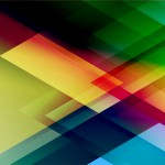 Abstract triangle vector background. Broshure design